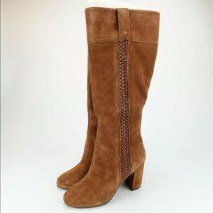 Kensie Bernadette tall heeled boots Sz 7 M